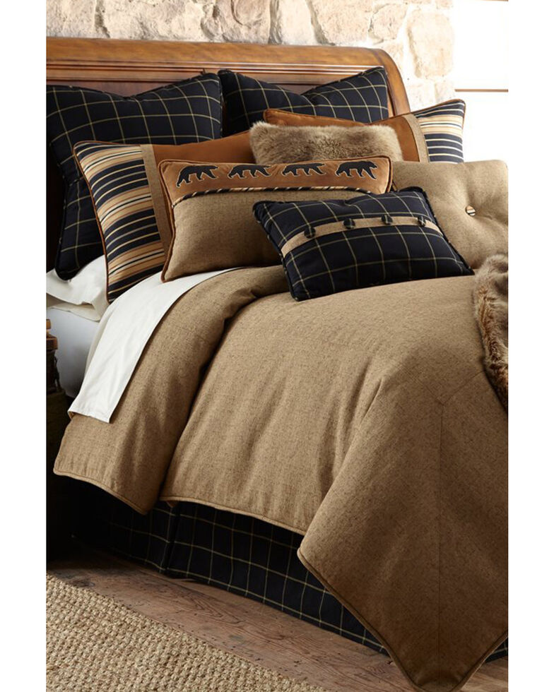 HiEnd Accents Ashbury Bedding Set - Super Queen, Brown, hi-res
