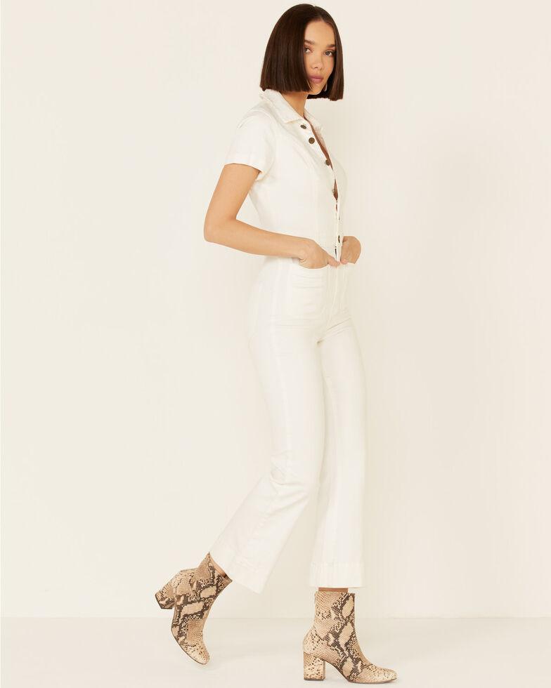 Show Me Your Mumu Women's Cropped Everhart Jumpsuit, White, hi-res