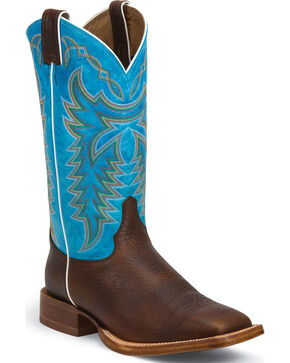 Justin Men's Whiskey Grit CPX Western Boots, Whiskey, hi-res