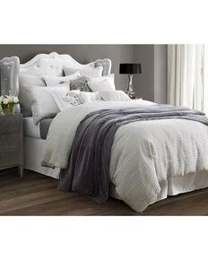 4-Piece HiEnd Accents Wilshire Super King Comforter Set, Light Grey, hi-res