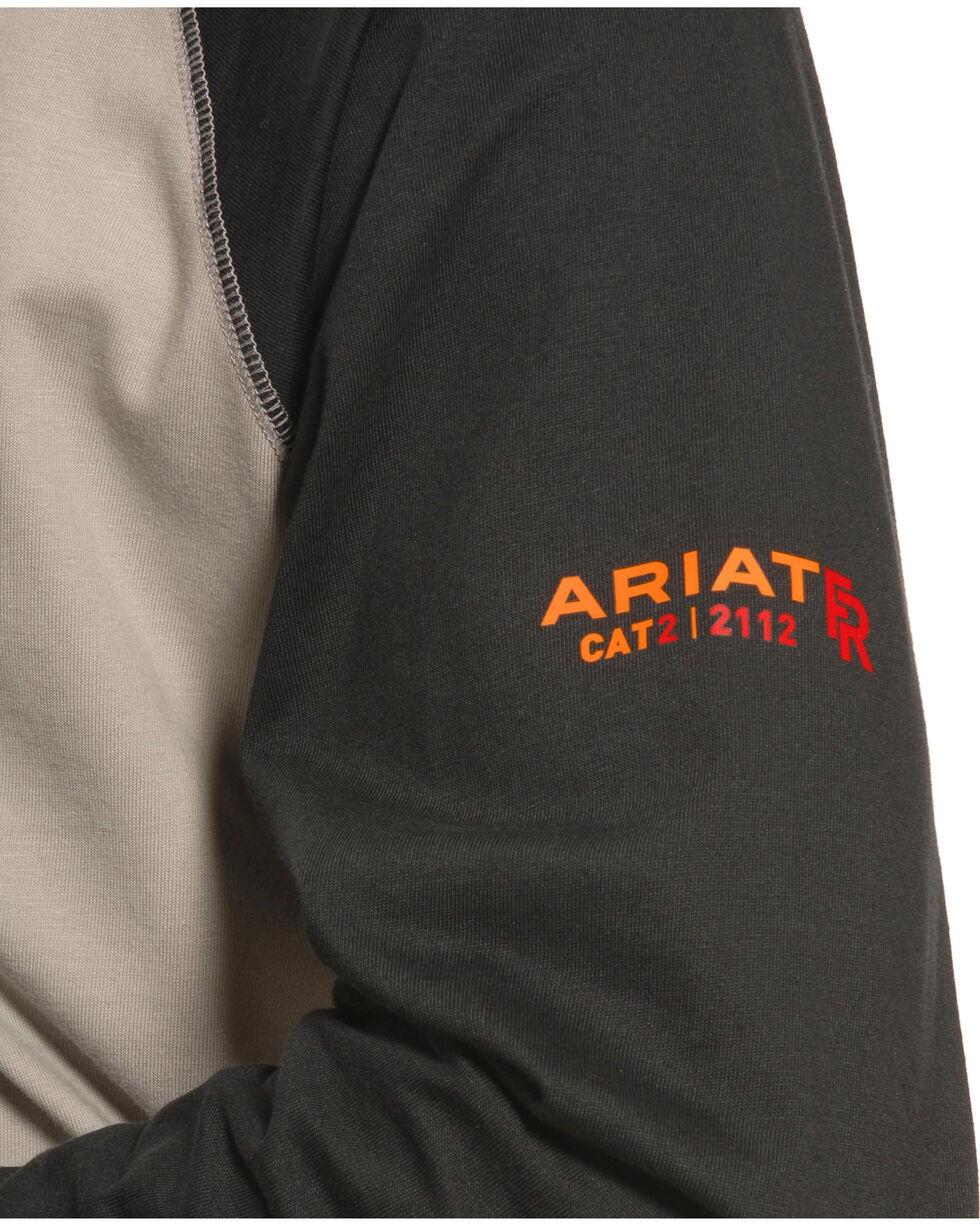 Ariat Men's FR Baseball Tee, Black, hi-res
