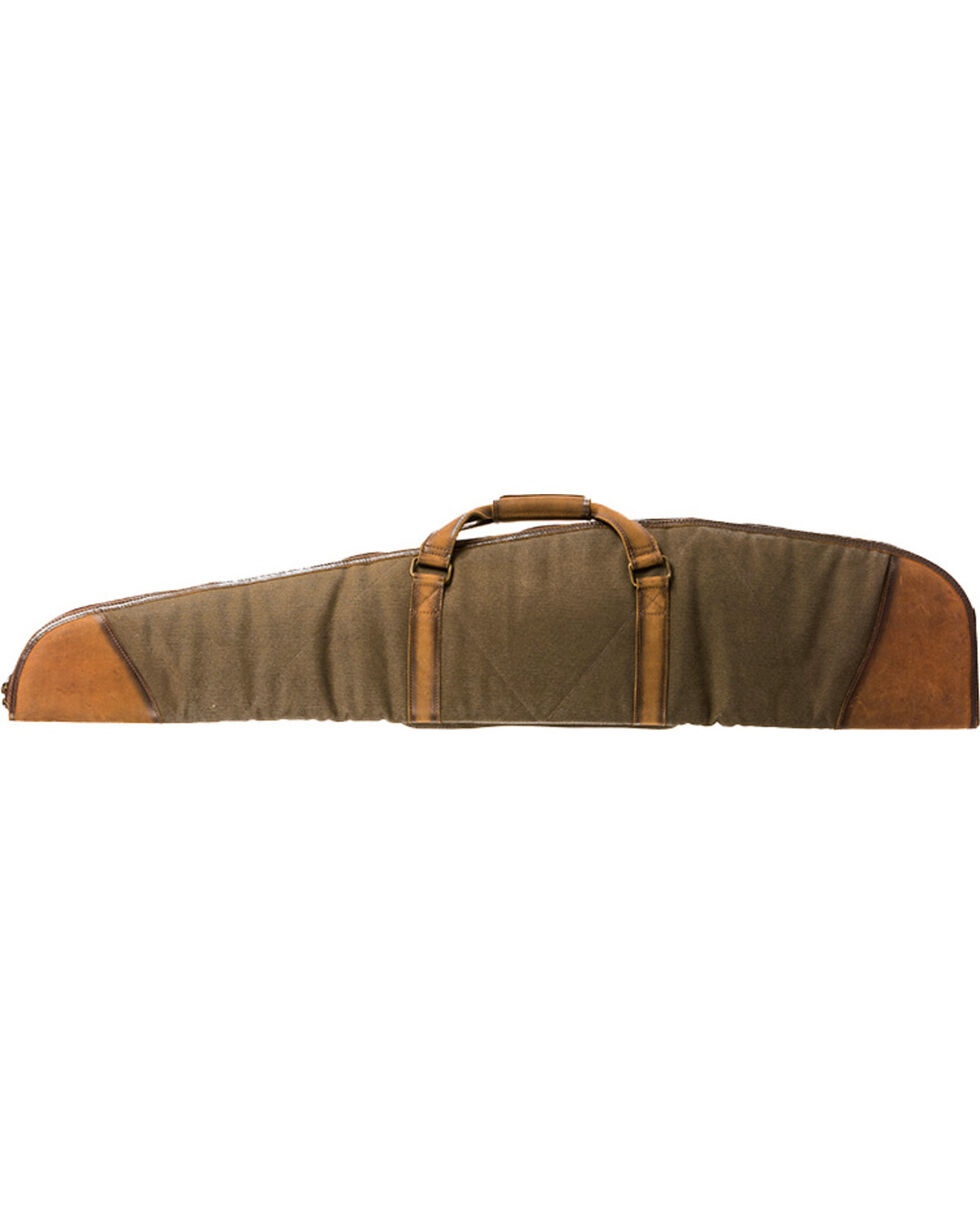 STS Ranchwear by Carrol Foreman Canvas Rifle Case , Olive, hi-res