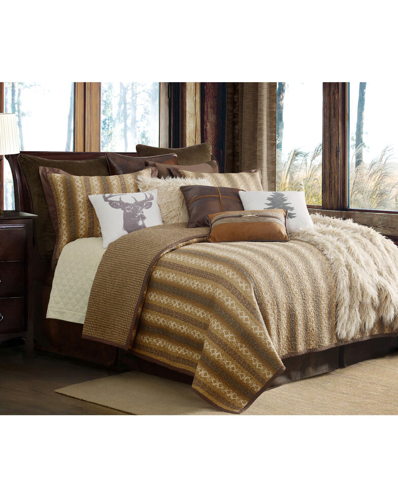 HiEnd Accents Hill Country Quilt 3-Piece Bedding Set - King, Multi, hi-res