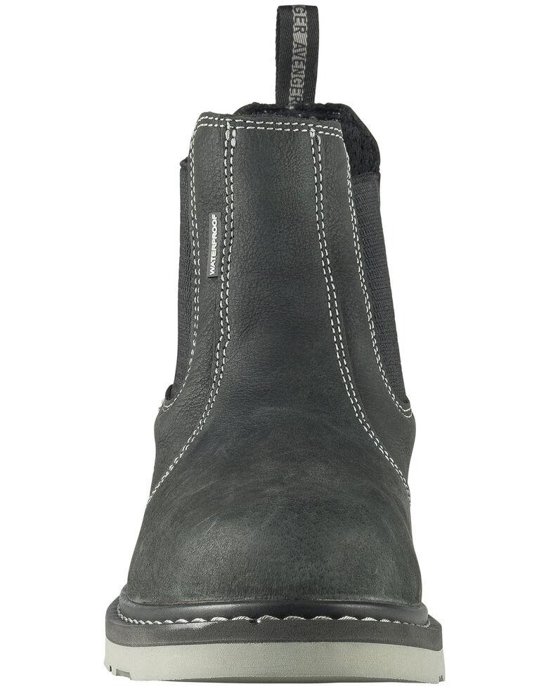 Avenger Men's Waterproof Wedge Work Boots - Soft Toe, Black, hi-res