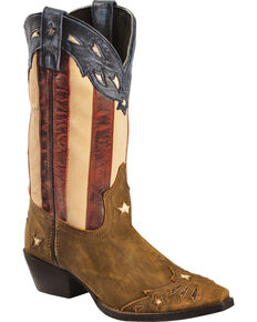 Laredo Women's Keyes Fashion Boots, Tan, hi-res