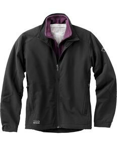 Dri Duck Women's Precision Softshell Jacket, Black, hi-res