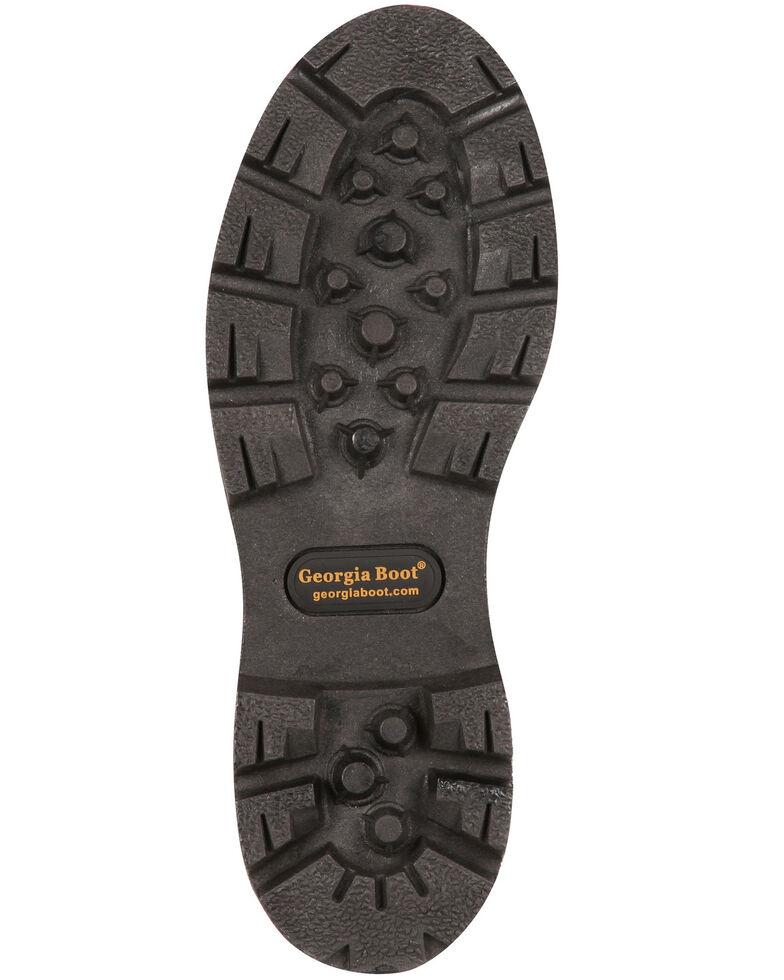Geogia Boot Men's Homeland Waterproof Work Boots - Steel Toe, Brown, hi-res
