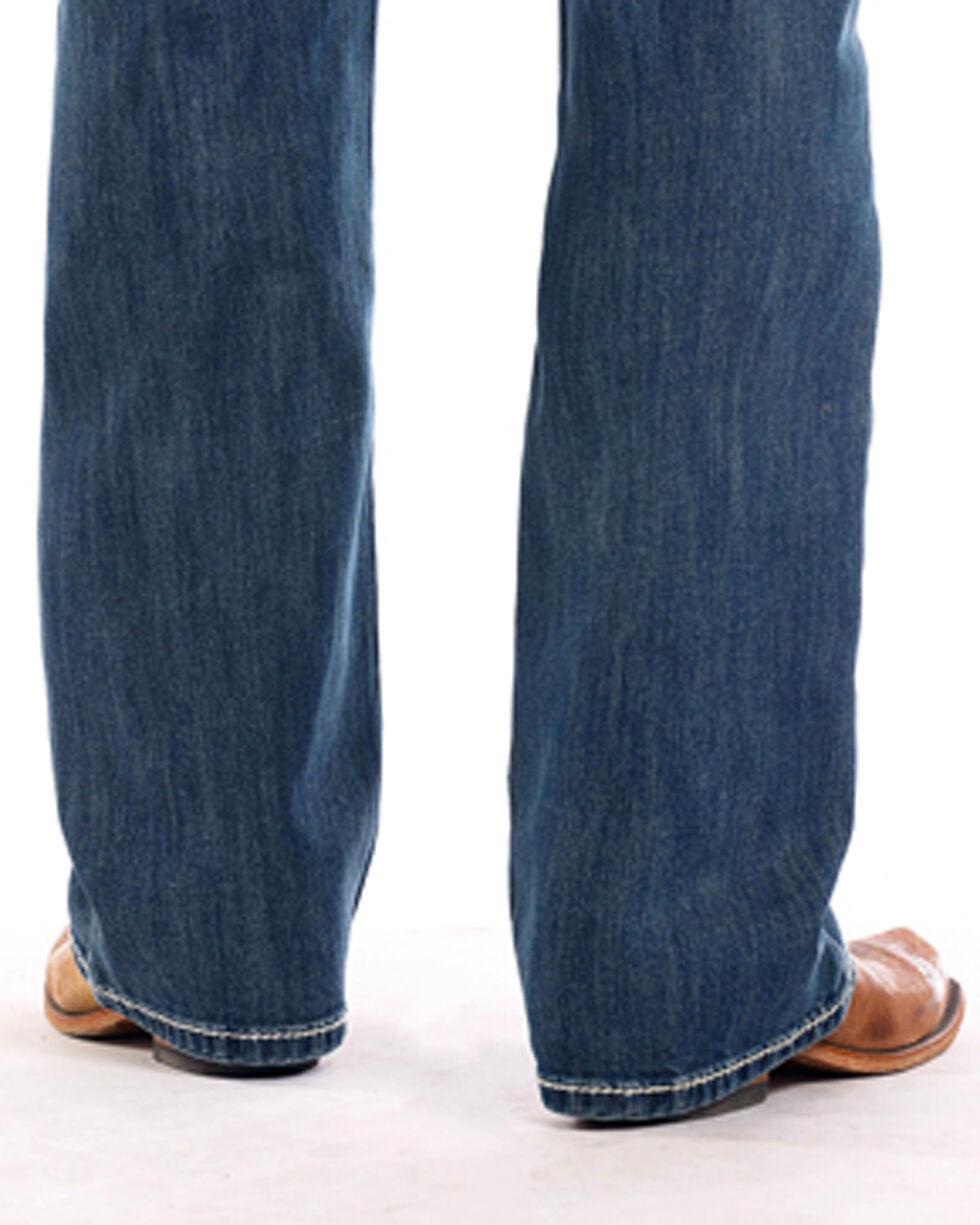 Rock & Roll Cowboy Men's Double Barrel Reflex Jeans - Boot Cut , Indigo, hi-res