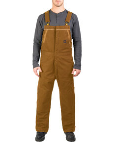 Walls Men's Brown Frost Blizzard Pruf Insulated Bib Overalls - Big & Tall, Pecan, hi-res