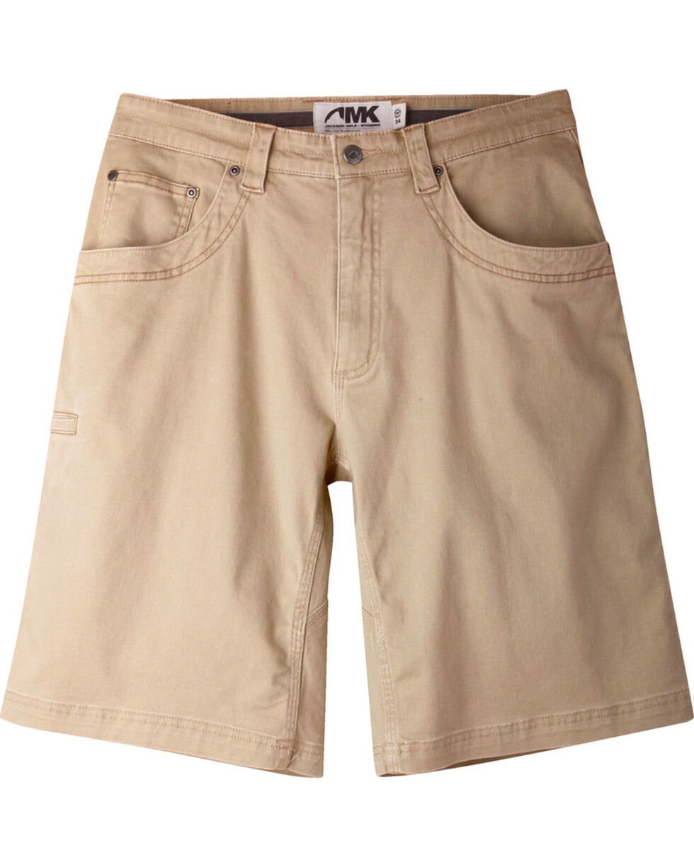 "Mountain Khakis Men's Classic Fit Camber 105 Shorts - 9"" Inseam, Tan, hi-res"