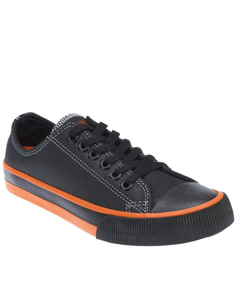 Harley Davidson Men's Roarke Tennis Shoes, Black, hi-res