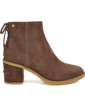 UGG Women's Corinne Boots - Round Toe, Brown, hi-res