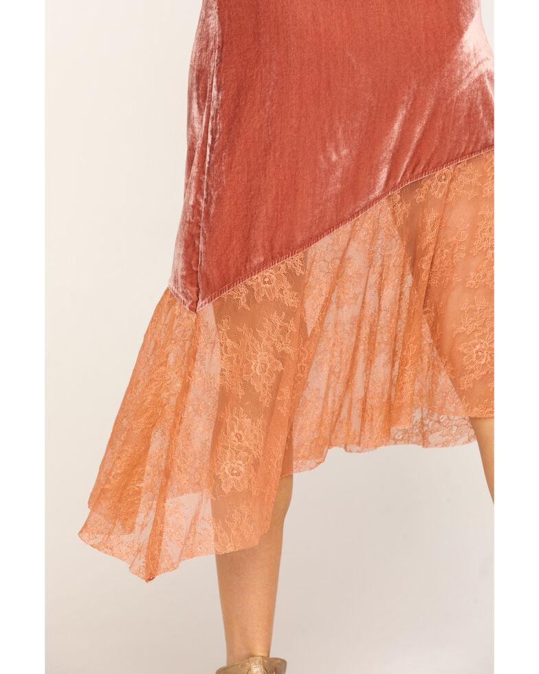 Free People Women's My Lacey Midi Skirt, Blush, hi-res