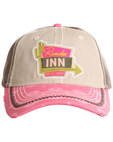 Rock & Roll Cowboy Men's Rancho Inn Aztec Cap , Beige/khaki, hi-res