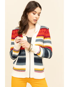 Pendleton Women's Campfire Zip Cardigan, Multi, hi-res