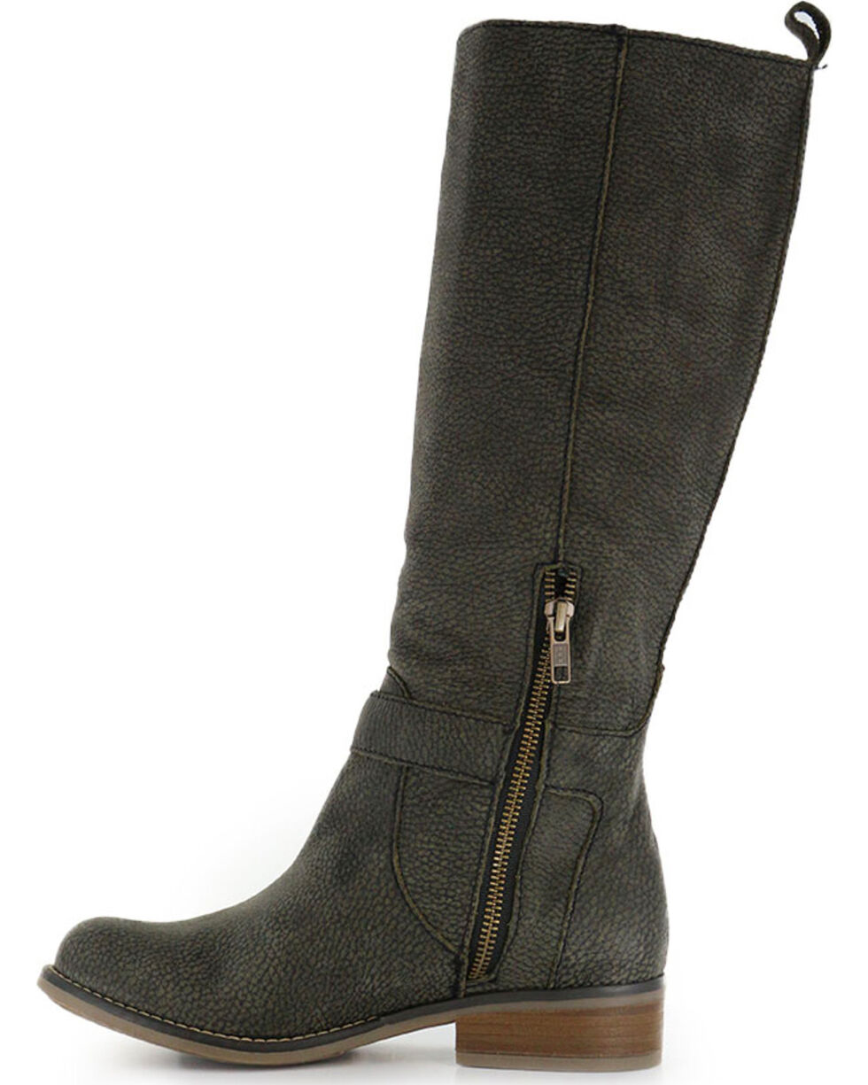 Corral Women's Tall Top Fashion Boots, Black, hi-res