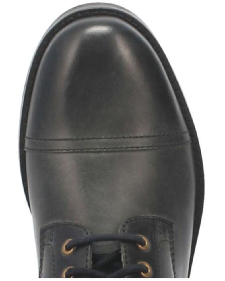 Dingo Men's Arcade Lace-Up Boots - Round Toe, Black, hi-res
