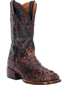 257dd5aba1d El Dorado Men s Caiman Square Toe Western Boots
