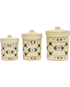 HiEnd Accent Multi Artesia Three-Piece Canister Set, Multi, hi-res