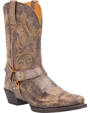 Ariat Men's Easy Step Tack Room Honey Boots - Snip Toe, Honey, hi-res