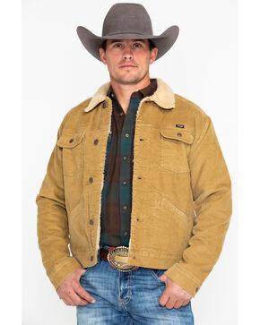 Wrangler Men's Tan Heritage Cowboy Sherpa Jacket , Tan, hi-res
