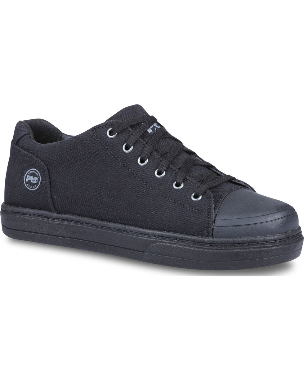 Timberland PRO Men's Disruptor Alloy Toe Canvas Work Shoes, Black, hi-res