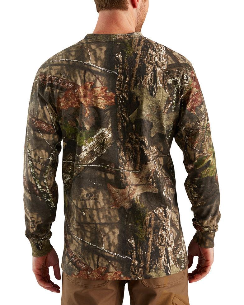 Carhartt Men's Graphic Camo Long Sleeve Shirt, Multi, hi-res