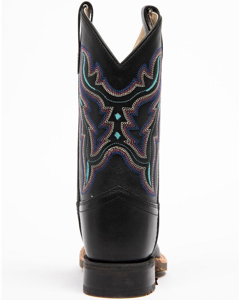Shyanne Girls' Black Western Boots - Narrow Square Toe, Black, hi-res