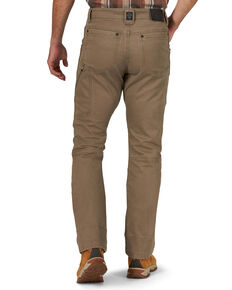 Wrangler All-Terrain Men's Morel Utility Asymmetric Cargo Pants , Brown, hi-res