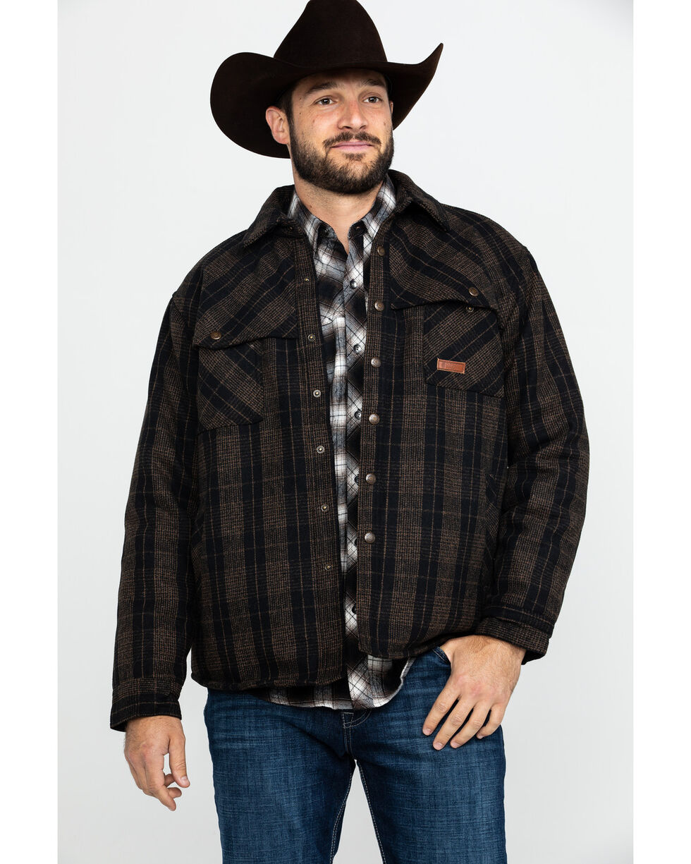 Outback Trading Co. Men's Brown Harrison Jacket , Brown, hi-res