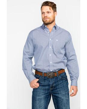 Ariat Men's Kaiserman Geo Print Long Sleeve Western Shirt , Multi, hi-res