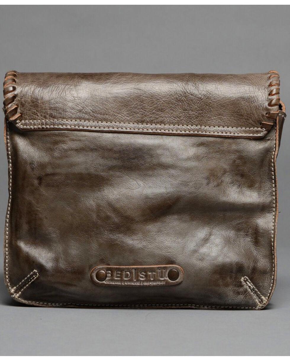 Bed Stu Women's Frankie Taupe Crossbody Bag , Dark Brown, hi-res