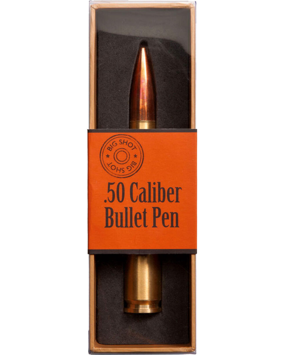 Big Sky Carvers Big Shot .50 Caliber Bullet Pen, Gold, hi-res