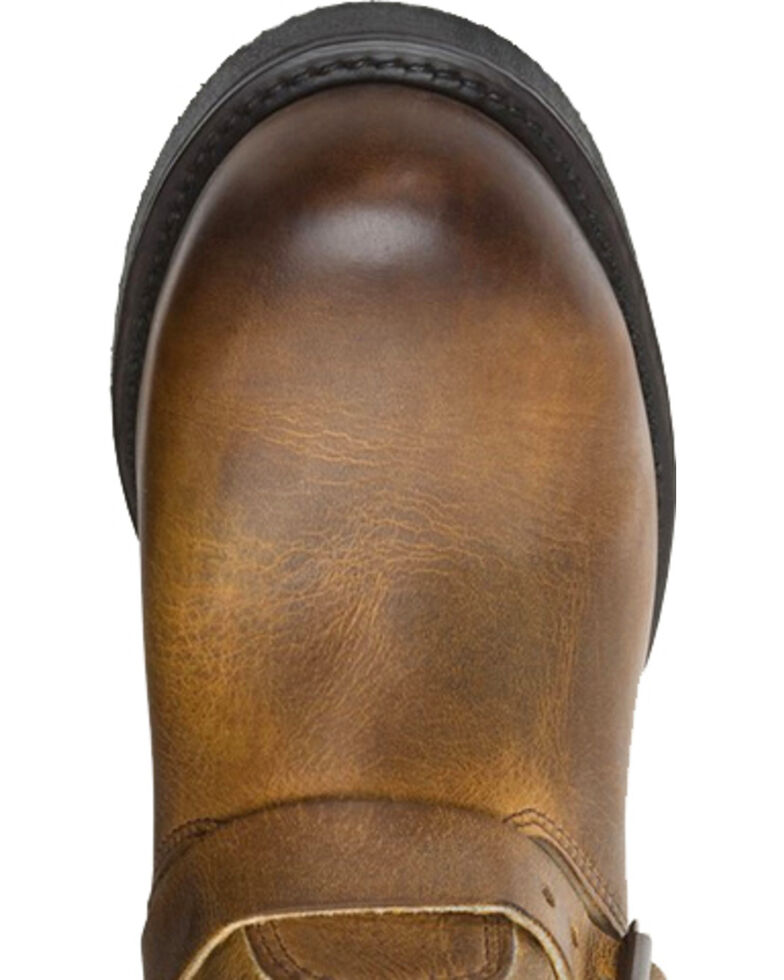 Frye Men's Engineer 12R Boots, Dark Brown, hi-res