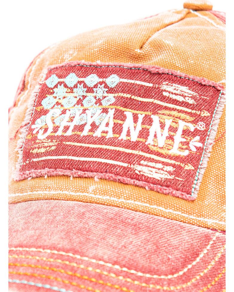 Shyanne Women's Rust Rough Flag Patch Cap , Rust Copper, hi-res