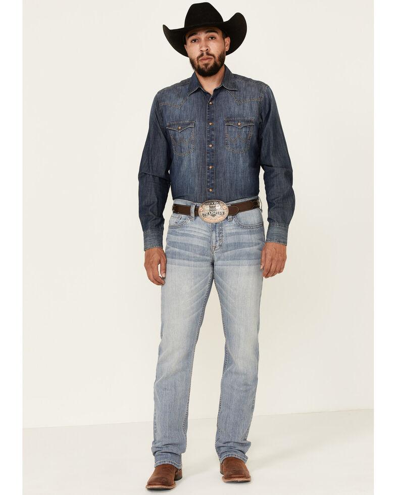 Cody James Men's Renegade Light Stretch Slim Straight Jeans , Blue, hi-res