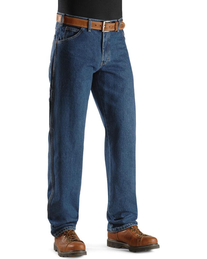 Dickies Relaxed Fit Carpenter Work Jeans, Denim, hi-res