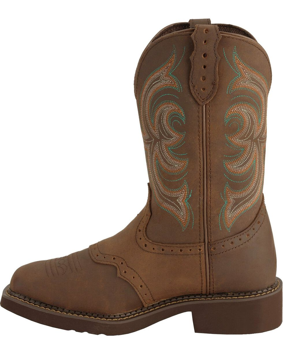 Justin Gypsy Women's Western Boots, Bark, hi-res