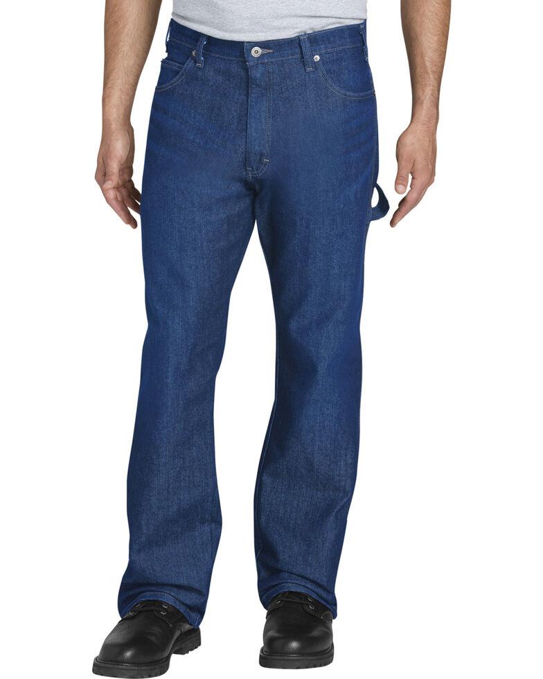 Dickies Men's Flex Relaxed Fit Carpenter Tough Max Jeans - Straight Leg, Indigo, hi-res