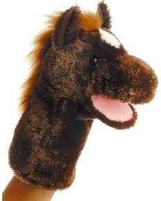 "Aurora 10"" Lonestar Horse Puppet, Brown, hi-res"