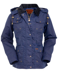 Outback Trading Co. Women's Navy Jill-A-Roo Jacket - Plus, Navy, hi-res