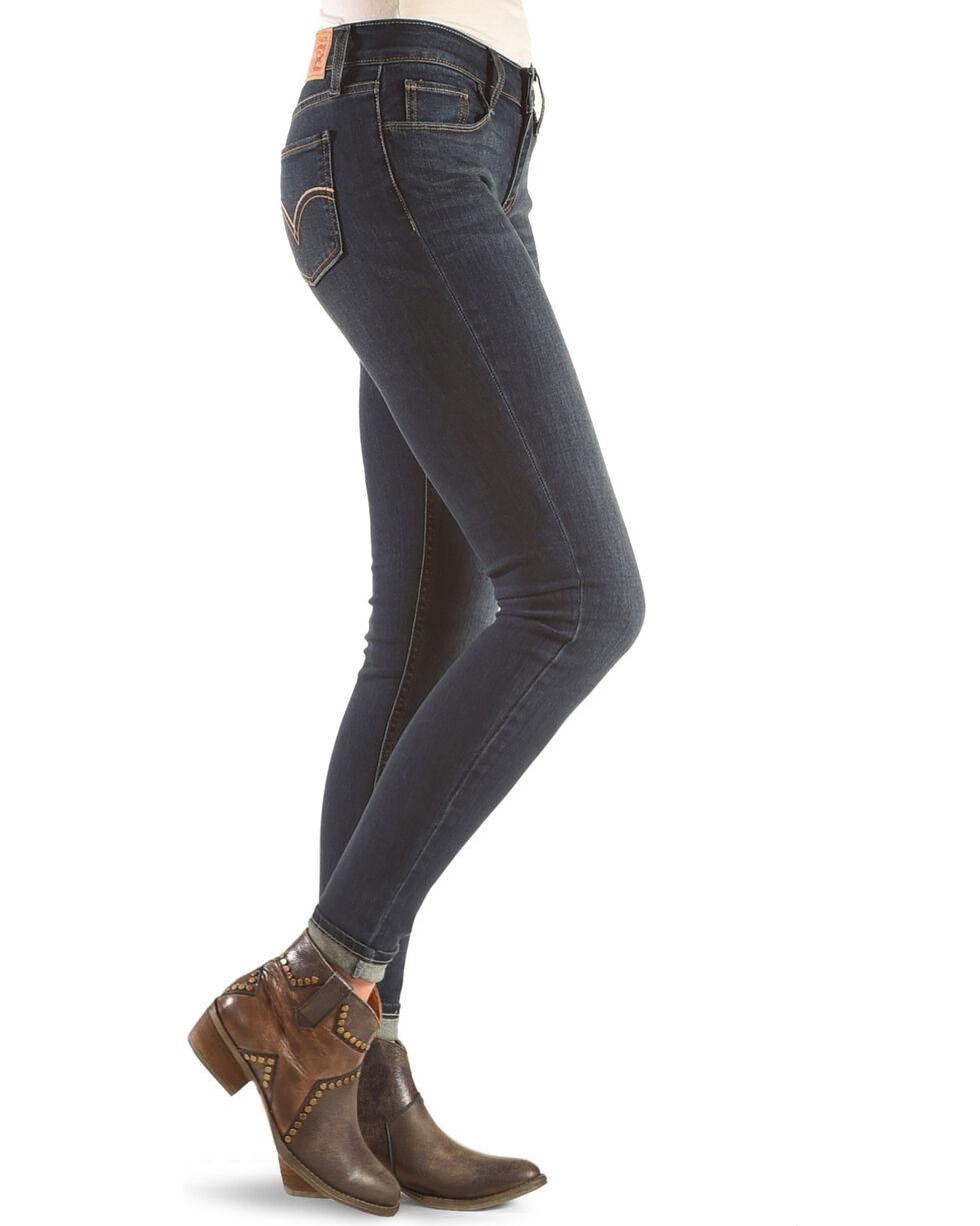 Levi's Women's 535 Super Skinny Jeans, Indigo, hi-res