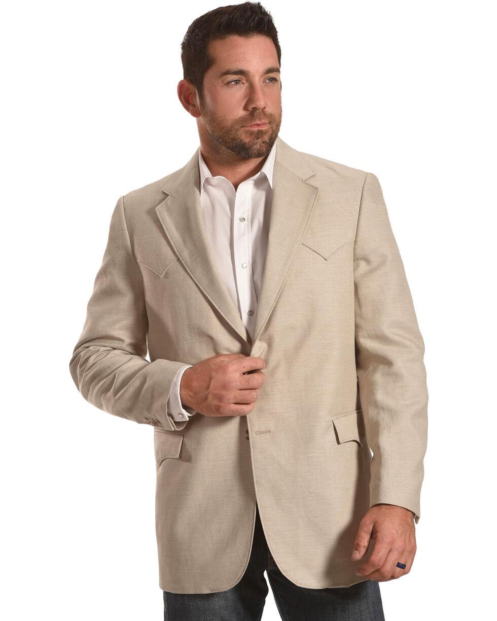 Circle S Men's Fort Worth Wheat Sport Coat - Big & Tall, Lt Brown, hi-res