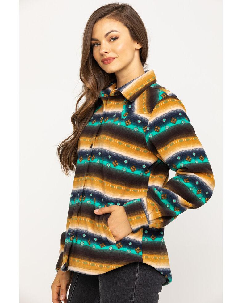 Outback Trading Co. Women's Emma Big Shirt, Brown, hi-res