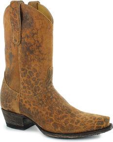 Old Gringo Women's Brown Leopardito Boots - Snip Toe , Brown, hi-res