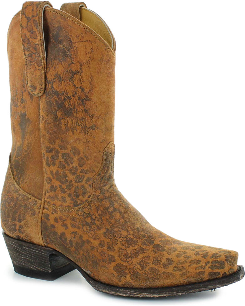 76cc5cfb3d8 Old Gringo Women's Brown Leopardito Boots - Snip Toe