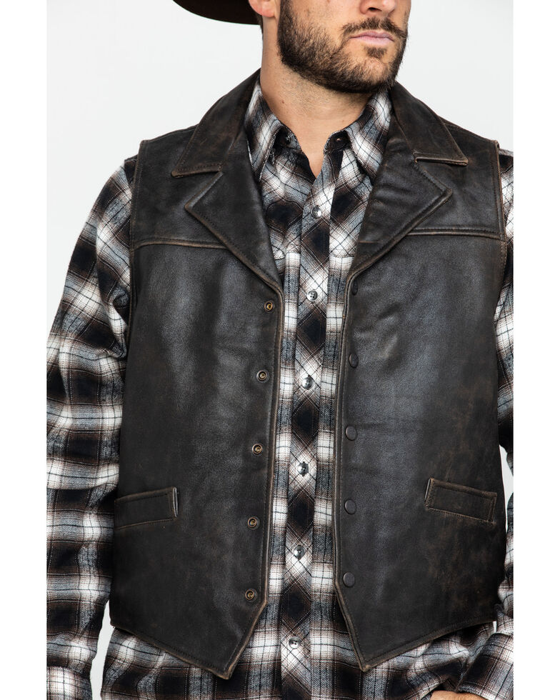 Outback Trading Co. Men's Brown Chief Vest , , hi-res