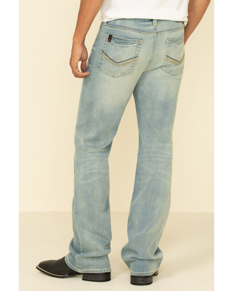 Cody James Core Men's Stayer Thermolite Performance Stretch Relaxed Boot Jeans , Blue, hi-res