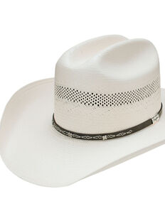 Resistol Men's George Strait 10X Edgefield Western Straw Hat , Natural, hi-res