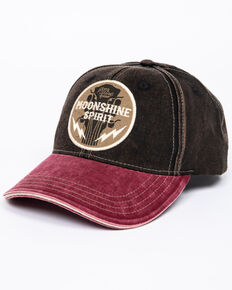 Moonshine Spirit Men s Guitar Logo Cap 57f77344602